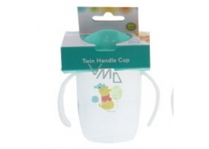 Disney Baby Winnie the Pooh Mug with two green handles for children from 6 months