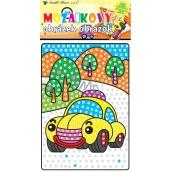 Mosaic means of transport car 23 x 16 cm