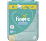 Pampers Fresh Clean Wet Wipes for Kids 4 x 80 pieces