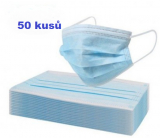 Disposable drape, face mask blue 50 pieces
