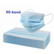 Disposable drape, face mask blue 50 pieces