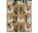 Nekupto Gift paper bag 24.5 x 19 x 8 cm Lama 566 KHM