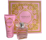 Versace Bright Crystal eau de toilette for women 30 ml + body lotion 50 ml, gift set