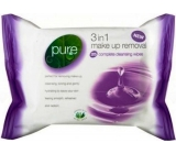 Pure 3in1 Make-up wet wipes 25 pieces