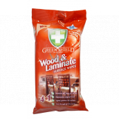 Green Shield Wood & Laminate 4in1 wood and laminate antibacterial wet wipes 50 pieces