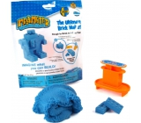 Mad Mattr Kinetic Sand Modeling Mold Create a blue brick 57 g