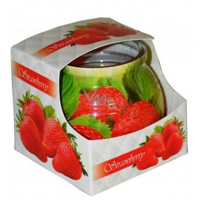 Admit Strawberry - Strawberry fragrance in glass 80 g