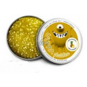 EP line Intelligent plasticine with pineapple Pineapple and ball glitter smart mass 80g