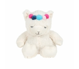 Albi Mini warm plush toy with Lama lavender fragrance height approx. 23 cm