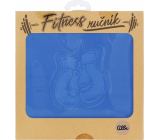 Albi Fitness towel Gloves blue 90 x 50 cm