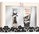 Christina Aguilera Signature perfumed water for women 15 ml + shower gel 50 ml, gift set
