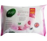 Pure Intimate Feminine Intimate Wipes 25 pieces