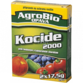 AgroBio Kocide 2000 preparation against fungal and bacterial diseases 2 x 17.5 g