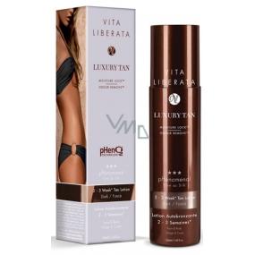 Vita Liberata pHenomenal Self-tanning milk for face and body for 2-3 weeks tan Dark - dark 200 ml