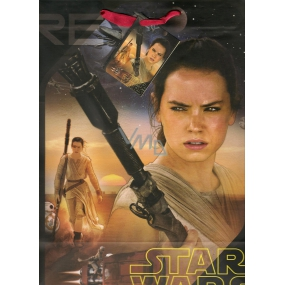 Ditipo Disney Gift Paper Bag for Kids L Star Wars 26.4 x 12 x 32.4 cm