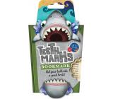 If Teeth Marks Bookmarks Dwarf Tab 97 x 17 x 200 mm shark