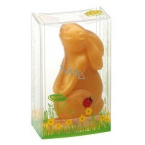 Kappus Rabbit golden toilet soap in an attractive, transparent box 75 g