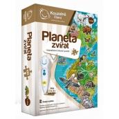 Albi Kouzelné čtení interaktivní mluvící puzzle Planeta zvířat
