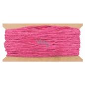 Pink paper string 30 m