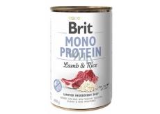 Brit Mono Protein 400g Lamb Rice