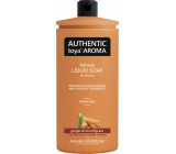 Authentic Toya Aroma tek.mýdlo NN 600ml Ginger & lemongrass 2542