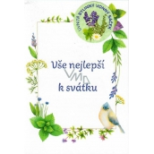 My Herbal Wish for the Holiday with Scented Bag All the best for the holiday Lemon Balm 02