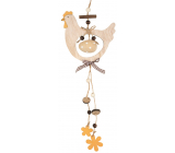 Wooden hen for hanging 32 cm