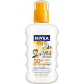 Nivea Sun Kids Pure & Sensitive OF50 + 200 ml sunblock for children