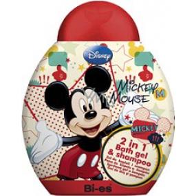Disney Mickey Mouse 2 in 1 bath shower gel and shampoo 250 ml