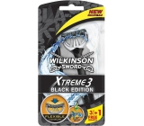Wilkinson Xtreme 3 Black Edition razor for men 4 pieces