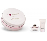 Salvatore Ferragamo Signorina perfumed water for women 30 ml + body lotion 50 ml, cosmetic set
