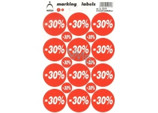 Arch Discount Labels -30%