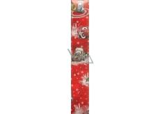Ditipo Disney Vánoční balicí papír dětský Cars McQueen typ 9 červený 100 x 70 cm 2 kusy
