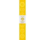Incense sticks Third chakra Yellow 14 pieces