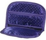Etue satin pocket small dark blue 14 x 9.5 x 1 cm