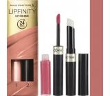 Max Factor Lipfinity Lip Colour rtěnka a lesk 160 Iced 2,3 ml a 1,9 g