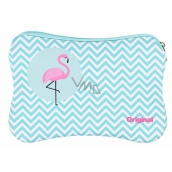 Albi Original Neoprene bag Flamingo, 17,5 × 11,5 cm