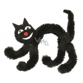 Black cat on standing 10 cm