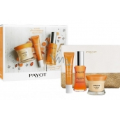 Payot My Payot Jour Day Cream 50 ml + Regard Brightening Eye Care with Super-Roll Extract 15 ml + Concentre Eclat serum for a healthy glowing look 30 ml + toiletry bag, cosmetic set