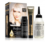 Loreal Paris Préférence hair color 10.21 Stockholm Very very light pearl blonde