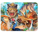 Prime3D magnet - Dinosaur Selfie 9 x 7 cm