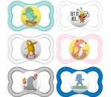 Mam Air silicone orthodontic comforter 16+ months various patterns and colors 1 piece