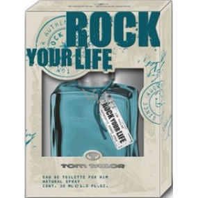 Tom Tailor Rock Your Life Man EdT 30 ml eau de toilette Ladies