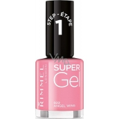 Rimmel London Super Gel lak na nehty 022 Angel Wing 12 ml