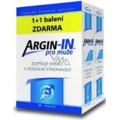Argin-IN zlepšují erekci a sexuální výkonnost pro muže 45 tobolek + Argin-IN 45 tobolek