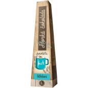 Bohemia Gifts & Cosmetics Horká extra jemná výběrová čokoláda Tatínkovi s vysokým podílem kakaového másla 30 g