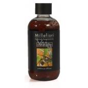 Millefiori Natural Sandalo Bergamotto - Santal wood and bergamot Diffuser filling for fragrant straw 250 ml