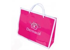 Dermacol - paper bag - magenta with white logo