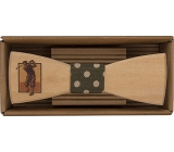 Bohemia Gifts & Cosmetics Wooden bow tie Golfer 12.5 cm