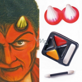 Set of makeup - devil